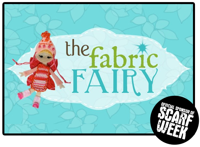 The Fabric Fairy: Scarf Week Sponsor