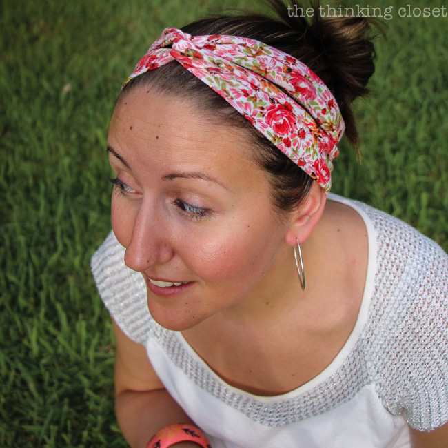 """""""Sew Easy"""" Turban Headband: This video tutorial walks you through every step, making it a fun and easy beginner sewist project!  Love how versatile these headbands are...and what great gifts they'd make!"""