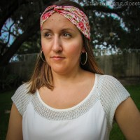 """Sew Easy"" Turban Headband: This video tutorial walks you through every step, making it a fun and easy beginner sewist project! Love how versatile these headbands are...and what great gifts they'd make!"