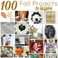 100 Projects to Usher in the Fall!