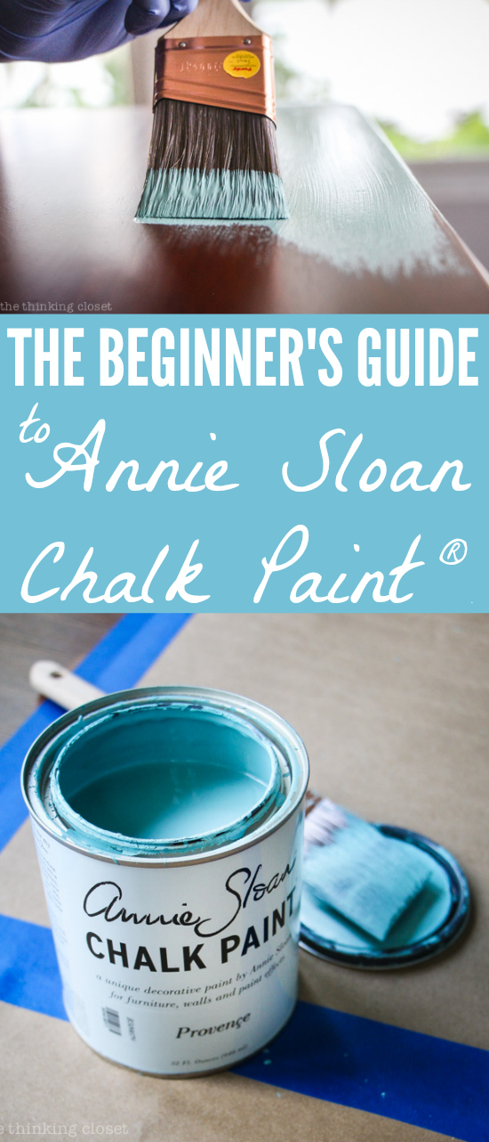 The Beginneru0027s Guide To Using Annie Sloan Chalk Paint U0026 Wax: One Beginneru0027s  Tips To