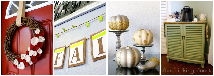 4 Inspirational Fall Projects from The Thinking Closet