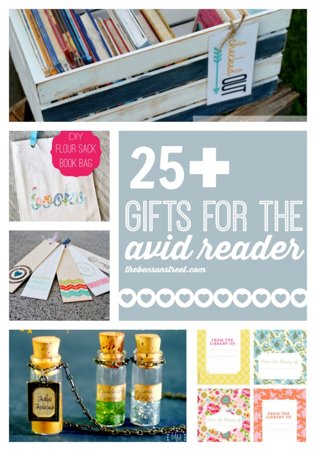 25+ Gifts for the Avid Reader by The Benson Street