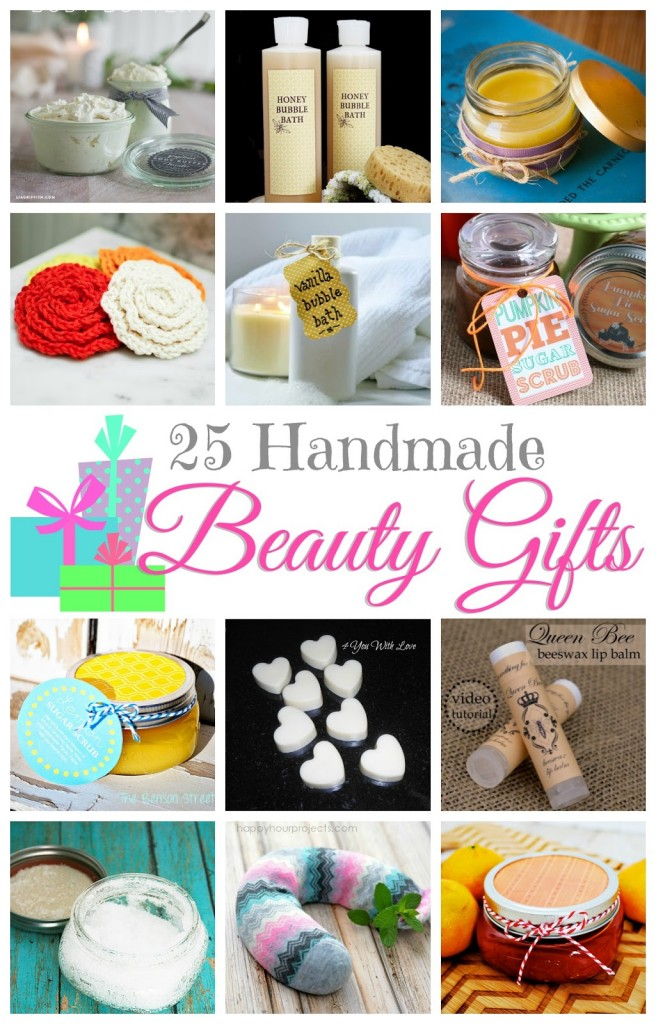 25 Handmade Beauty Gifts by Pitter & Glink