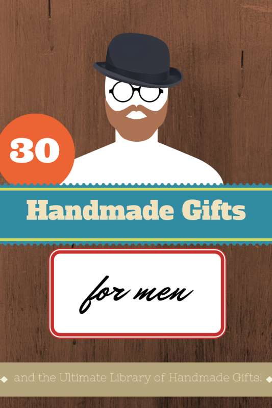 30 Handmade Gifts For Men by Suburble