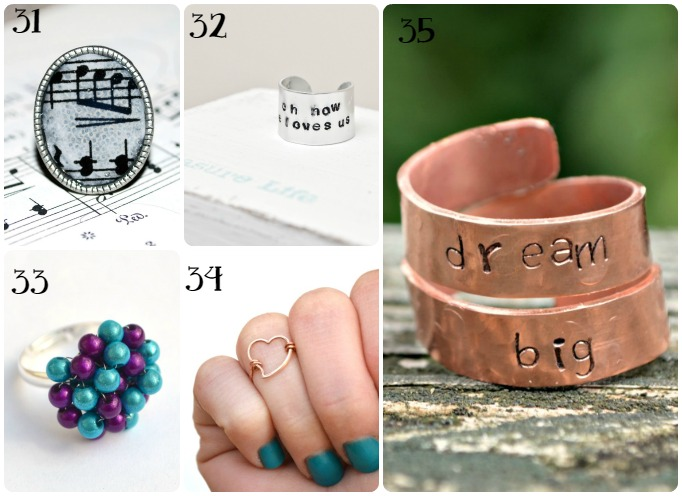 45 Jewelry Gift Ideas by One Artsy Mama