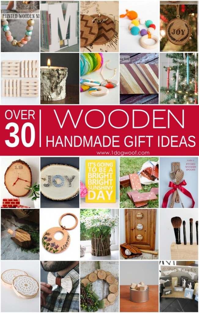 Over 30 Wooden Handmade Gift Ideas by One Dog Woof