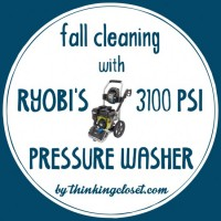"Fall Cleaning Before & After Videos with RYOBI's ""Miracle Maker"" Pressure Washer"