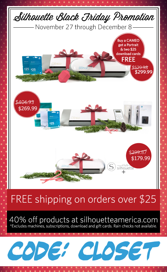 EPIC Holiday Sales at Silhouette America  11 27   12 8 Use code. Christmas Tree Gift Boxes  FREE Printable   the thinking closet