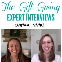 Gift-Giving Expert Interviews: Sneak Peeks!