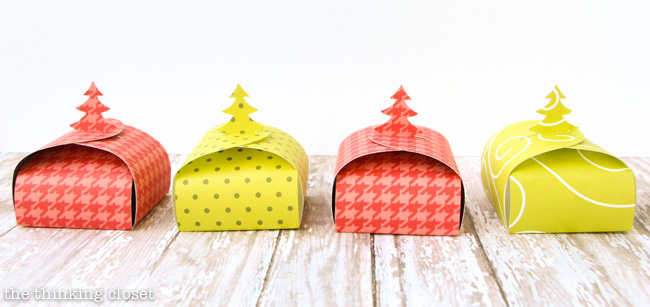 christmas tree gift boxes free printable the thinking closet