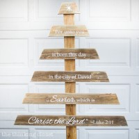 DIY Rustic Pallet Christmas Tree & Silhouette Giveaway!