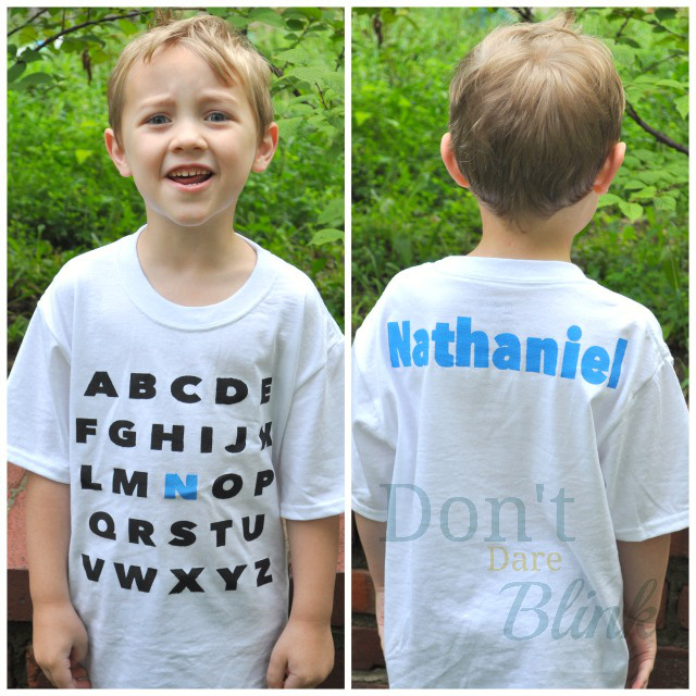 Back-to-School T-Shirts by Don't Dare Blink, Featured in The Thinking Closet's Fall 2014 Reader Showcase.