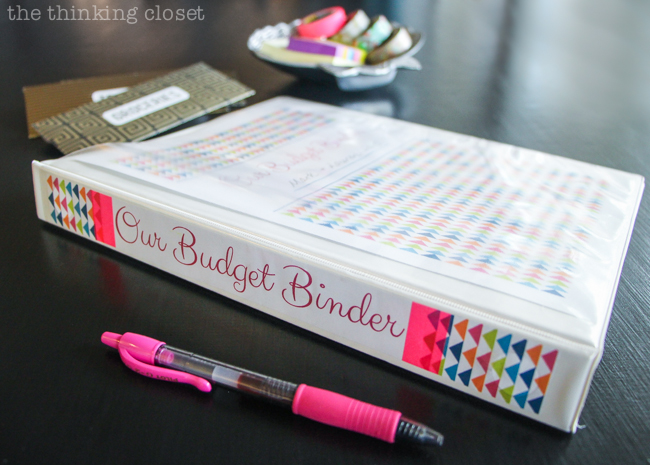Organizing Our Budget Binder & Cash Envelopes   How we're getting our financial rears in gear, plus a slew of recommended resources and printables for anyone else looking to do the same! We can do it, folks. via thinkingcloset.com