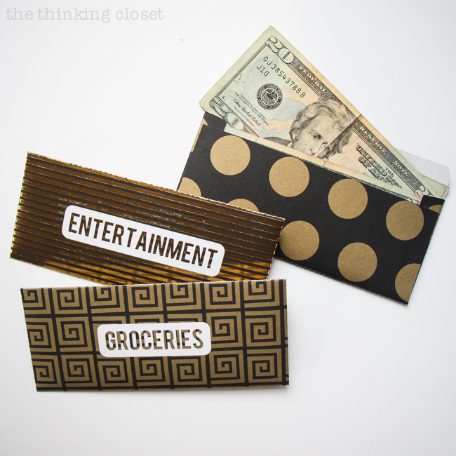 photo regarding Free Printable Money Envelopes named Do it yourself Dollars Spending budget Envelopes: Absolutely free Printable - the pondering closet