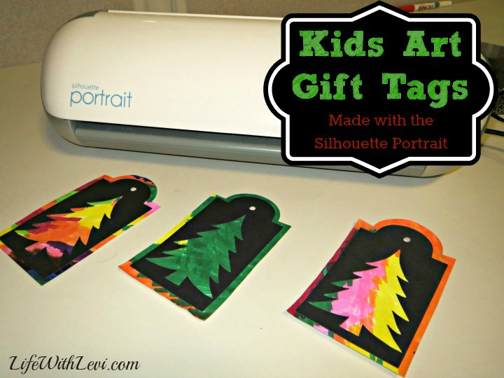 Kids' Art Gift Tags by Live with Levi, Featured in The Thinking Closet's Fall 2014 Reader Showcase.