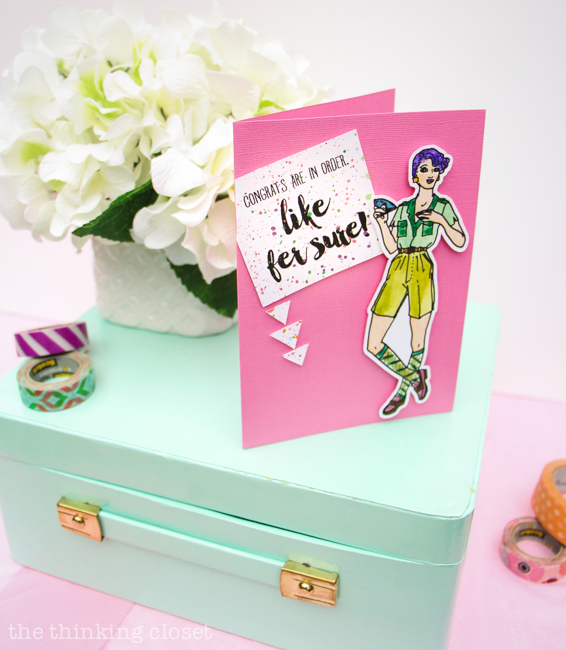 1980s Fashion Plate Greeting Cards: FREE Printable — the thinking ...