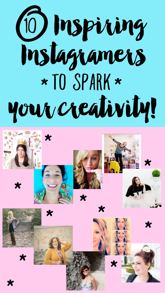 10 Inspiring Instagramers to Spark Your Creativity | We've got Color Queens, Painting Partiers, Journal Gems, and Lettering Lovies, so check out thinkingcloset.com for the full round-up and prepare to experience your own creative renaissance as a result!