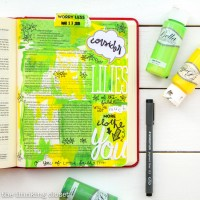Welcome to My Journaling Bible: heART in the margins