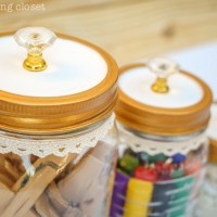 Fancy Dancy Mason Jar Upcycle