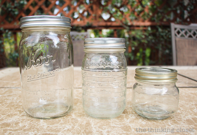 Swap It Like It's Hot  |  3 Mason Jars with Lids just begging for an upcycle!