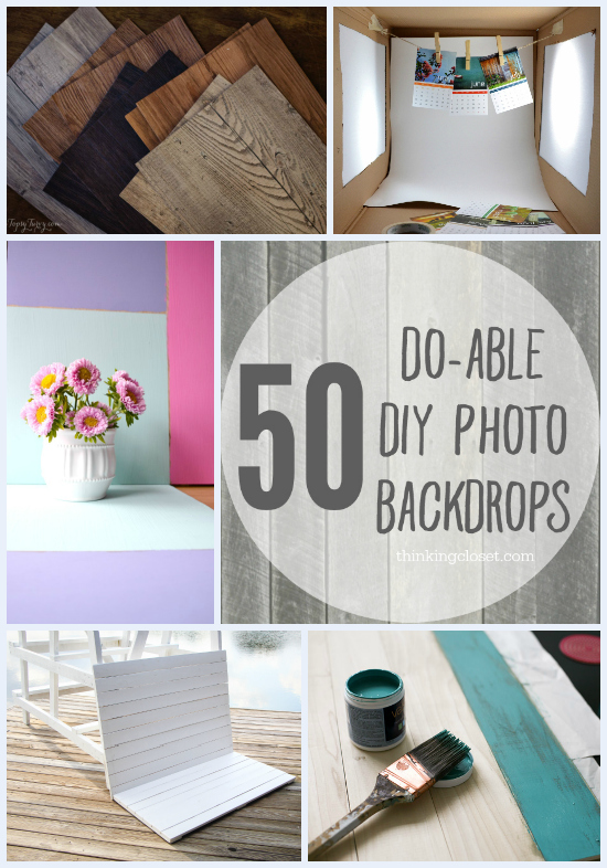 50 do able diy photo backdrops the thinking closet 50 do able diy photo backdrops a collection of inspiration from across blogland for solutioingenieria Choice Image