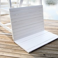 DIY Coastal Wood Plank Photo Backdrop