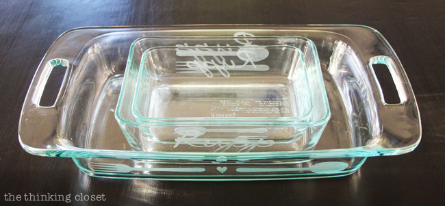 The Art Of The Etched Casserole Dish Your Questions