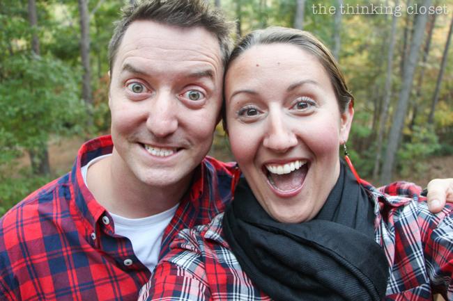 """Our """"Decor Date"""" Faces!   Mark & Lauren"""