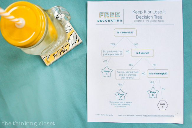 """Should It Stay or Should It Go?""  A Decor Date  