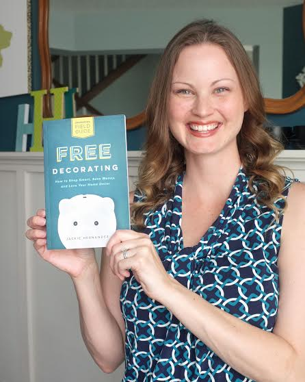 Exclusive Interview with Jackie Hernandez, author of Free Decorating!  at thinkingcloset.com