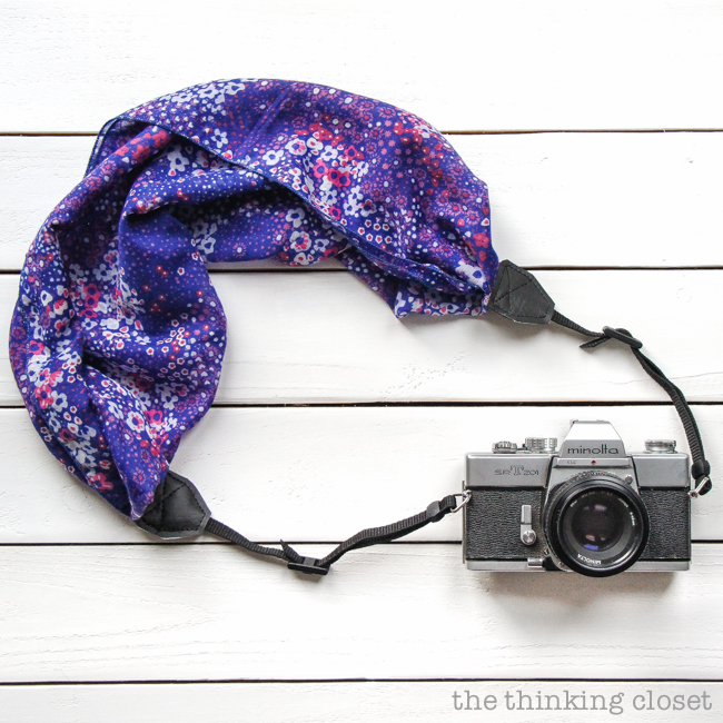 DIY floral camera strap | Christmas Gifts For Girlfriend | DIY Gifts For Your BFF