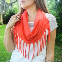 10 Minute Fringe Infinity T-Shirt Scarf