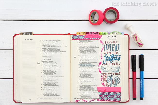 Flip-Through Video Tour of My Journaling Bible | Join me on this fun lil' video tour of the first 10 entries of my E.S.V. Journaling Bible in which I share tips, tricks, favorite supplies, techniques I've been exploring, and why this has been such a meaningful way for me to study the Bible these past 3 months. I hope it's an encouragement to you wherever you find yourself in your journey.