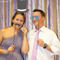 D.I.Y. Shabby Chic Fabric Photo Booth Backdrop