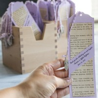 D.I.Y. Bookmark Wedding Favors