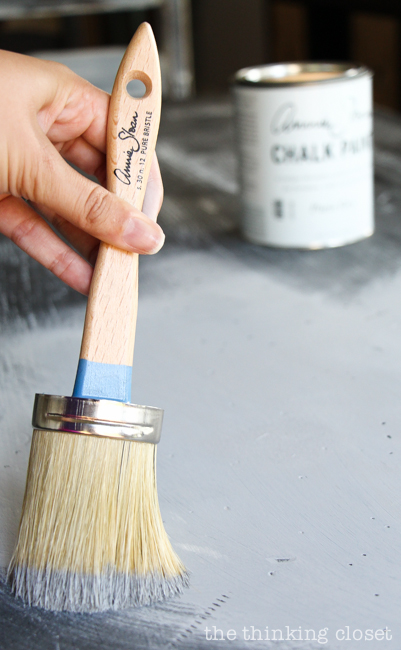 The Beginner's Guide to Distressing with Annie Sloan | It turns out that distressing with Chalk Paint® Decorative Paint & Wax by Annie Sloan doesn't have to be stressful at all! Here's a detailed tutorial for how to age and distress a piece of furniture to give it that time-worn look, rich with character. This guide is your one stop shop for inspiration; so what are you waiting for? This paint is SO easy to work with.