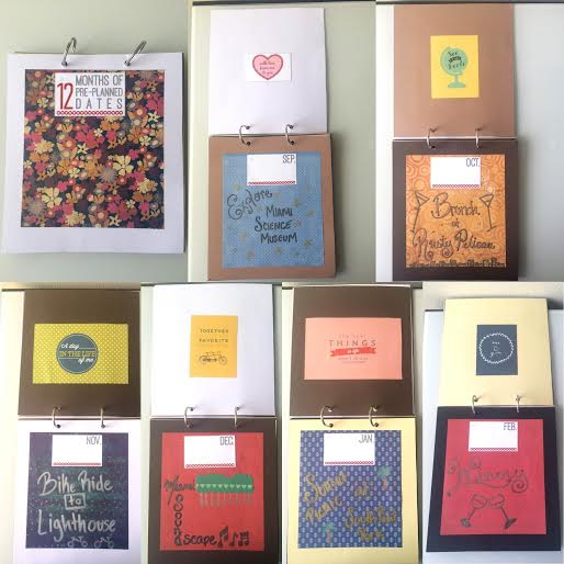 12 Months of Dates Mini-Book by Scotty, Featured in The Thinking Closet's Summer 2015 Reader Showcase.