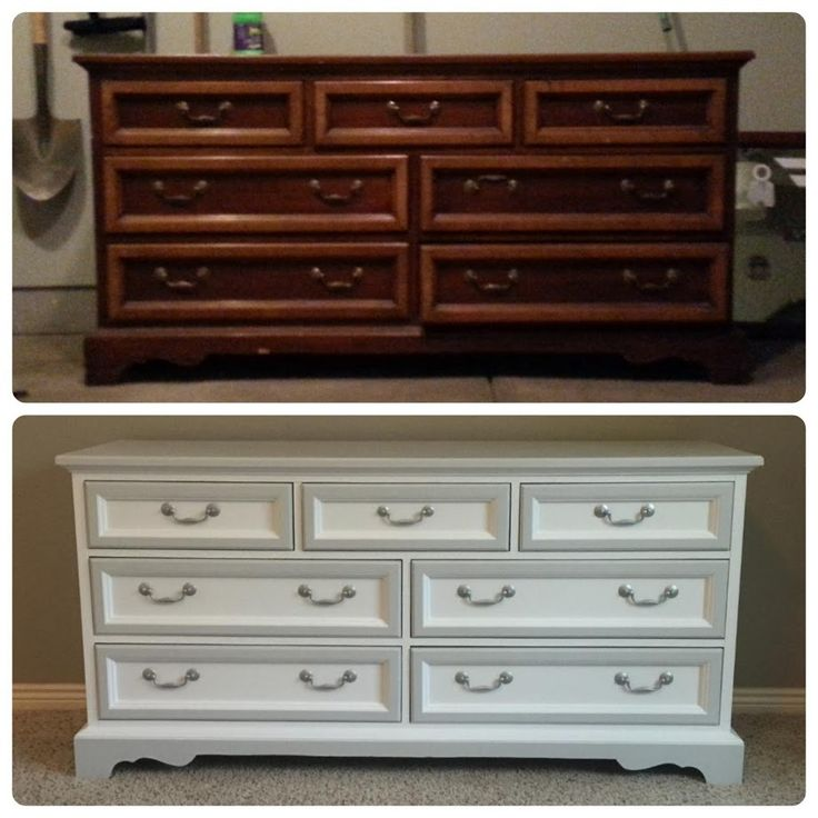 Dresser Makeover by Chelsea Rae, Featured in The Thinking Closet's Summer 2015 Reader Showcase.