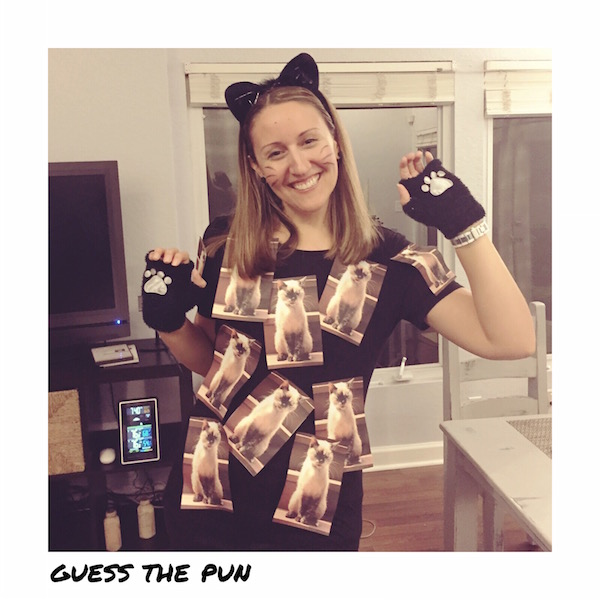 ... 20 LAST MINUTE Punny Halloween Costume Ideas | Another epically awesome Halloween costume round-up  sc 1 st  The Thinking Closet & 20 Last-Minute Punny Halloween Costume Ideas - the thinking closet