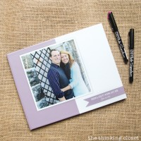 D.I.Y. Wedding Guest Book with Creative Prompts