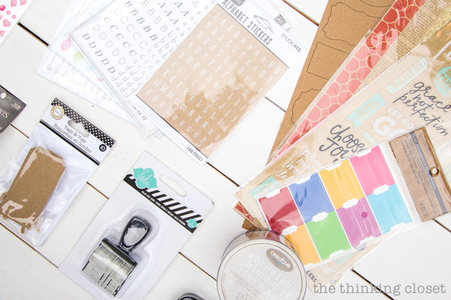 My 20 Favorite Journaling Bible Supplies | A photo-filled run-down of my go-to craft supplies that I reach for when pouring my heART in the margins of my ESV Crossway Journaling Bible! Everything from washi tape, gelatos, brush pens, paint, and more! Plus, a peek at what's on my wish list of supplies....