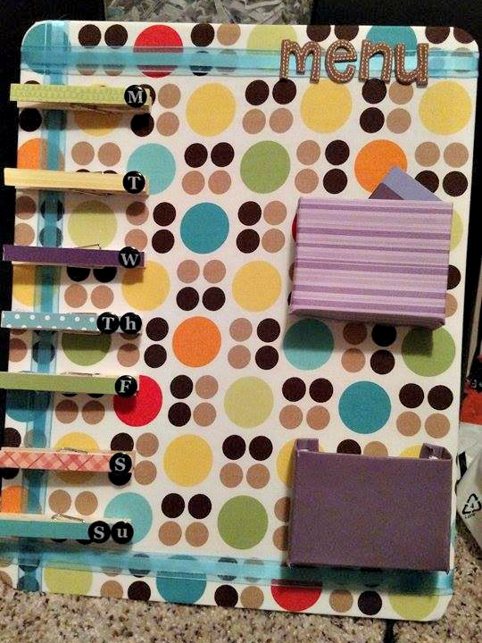 Menu Planner by Sarah, Featured in The Thinking Closet's Summer 2015 Reader Showcase.