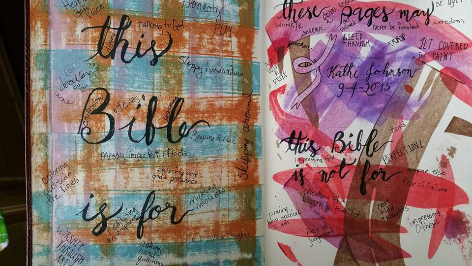 Permission Pages by Kathi, Featured in The Thinking Closet's Summer 2015 Reader Showcase.