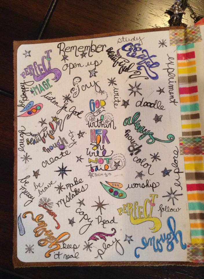 Permission Pages by Dolli, Featured in The Thinking Closet's Summer 2015 Reader Showcase.