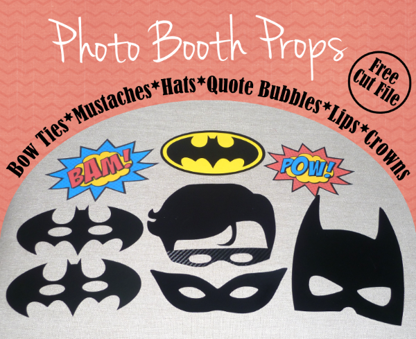 Photo Booth Props by Whatcha Workin' On, Featured in The Thinking Closet's Summer 2015 Reader Showcase.