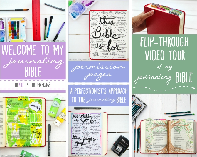 A bevy of Journaling Bible inspiration from ThinkingCloset.com