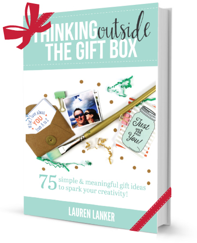 Prepare to kickstart your creativity!  sc 1 st  The Thinking Closet & Thinking Outside the Gift Box: 75 Simple u0026 Meaningful Gift Ideas ...