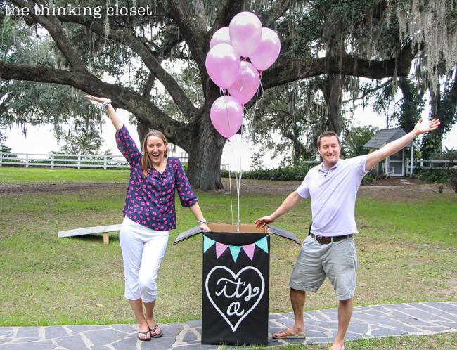 Baby Girl Arrival Balloon In a box
