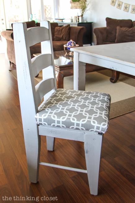 How to Reupholster a Dining Chair Seat: DIY Tutorial — the ...